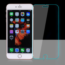 Wholesale Iphone 5c Tempered Glass - For Iphone 7 Plus Iphone 6 6S Plus 5 5S 5c 4 4S Top Quality Tempered Glass Film Screen Protector Protectors