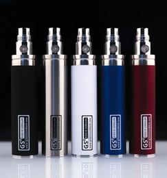 Wholesale Ego Ecig Battery - GS EGO 3200mah GS Ego II 2200mAh Battery Vaporizer Ecig Batteries 2200 Mah 3200 mah DHL free
