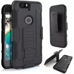Wholesale Mini Phone Stylus - Future Armor Impact Hybrid Hard Phone Case Cover With Belt Clip Holster Kickstand Stand for LG G3 G4 Mini Stylus G3S V10 Spirit Nexus 5X 6P
