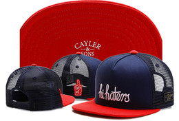 Wholesale Baseball Business - 2017 New Cayler sons cap Hands Logo Hi Haters None of your business brand snapback cap baseball hat for men women sport hip hop bone gorras