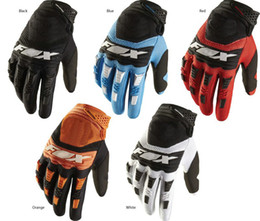 Wholesale Gloves Gear - Free Shipping Hot Sale Full Finger Motorcycle Gloves Motocross Orange Color Moto Protective Gears Glove For Men M L XL
