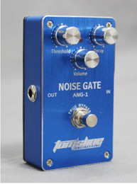 Wholesale Guitar Effects Pedals Noise - Free shipping ANG-1 Noise Gate Guitar Effects Pedal Guitarra Noise Reducer extra noise elimination True Bypass Free Shipping