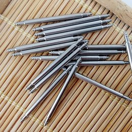 veillez à réparer les pièces Promotion Vente en gros - 1000pcs / bag SDF-178S Watch Spring Bars, Watchmakers Repair Watch Parts Heavy Duty Double bride 20mm Watch Spring Barres