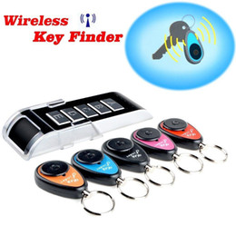 Wholesale Cell Phone Items Wholesalers - Key Finder-Wireless:5 in 1Wireless RF Item Locator Key Finder with LED flashlight and base support. With 5 Receivers key RF locator, Remote