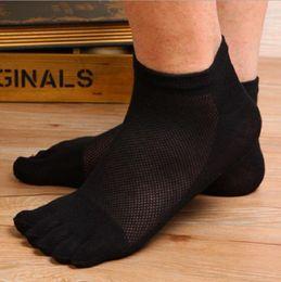 Wholesale Wholesale Black Socks For Boys - socks ship ankle toe cotton Polyester simple breathable black white for men man male boy 26-28cm free size