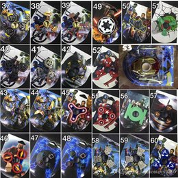 Wholesale Mix Style Toy - 2017 Newest Mixed Styles Comic Fidget Spinner EDS Anti-stress Metal Hand Spinners Fidget Spinner Decompression Novelty Toy Spinning Top