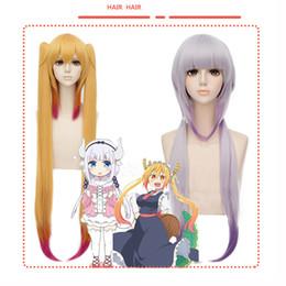 Wholesale Connor Costume - Kobayashi-san Chi no Maid Dragon thor and connor wig