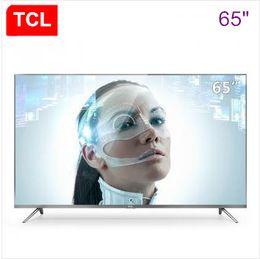 TCL 65-inch 4K ultrafino 64-bit 30-core HDR LED inteligente LCD de ultra-alta definición TV de panel plano nuevo envío gratuito desde fabricantes