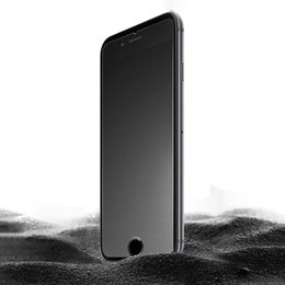 Wholesale Frosted Glass Screen - Frosted Matte Tempered Glass Screen Protector For iPhone 6 6+ 7 7 Plus New