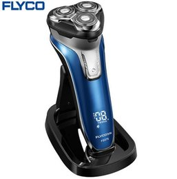 Wholesale Independent Machine - Flyco Intelligent anti-clip system three independent floating heads Entire Machine washable Pop-up Trimmer Electric shaver FS375
