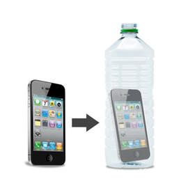 Wholesale Magic Bottle Trick - Amazing Mobile Phone Thru Into Bottle Wonderful Close Up Street Magic Finger Prop Trick Illusion Tool Easy Show