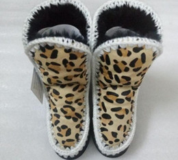 Wholesale Eva Caps - Women Fashion Winter Snow Boots with Real Sheep Fur and Sheep Skin Top Quality Mid calf Boots