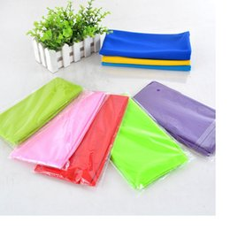 Wholesale Magic Cool Towel Wholesale - Magic Ice Towel 90*35cm Multifunctional Cooling Summer Cold Sports Towels Cool scarf Ice belt For Children Adult wa3339