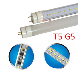 Wholesale Led Tube Lights Base - bi pin G5 base T5 led tubes light 2ft 3ft 4ft led tubes with new design built-in power supply AC 110-265V easy installation
