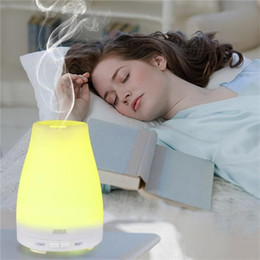 Wholesale Wholesale Air Bar - 100ml Essential Oil Diffuser Portable Aroma Humidifier Diffuser LED Night Light Ultrasonic Cool Mist Fresh Air Spa Aromatherap