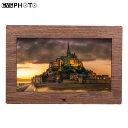 """Wholesale Video Digital Picture Frame - Wholesale- 10"""" LED Digital Picture Photo Frame Wide Screen Slideshow Music Video Player with Remote Control High Resolution Gift Present"""