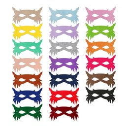Wholesale masquerade masks paper - Masquerade Masks Children Party Perform Half Face Vizard Mask Take Photos Prop Festival Supplies New 4 8hya C R