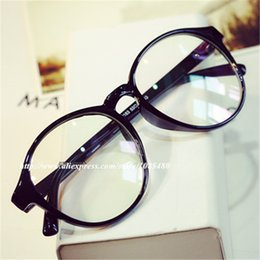 07eec33d3e Wholesale- Vintage Classic Round Eyewear Frames Eyeglasses Degree Optical  Myopia Glasses Spectacle Frame Eye Glasses Frames For Women Men