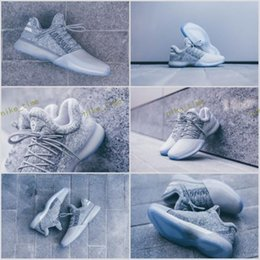 Wholesale Low Cut Training Shoes - 2017 New Harden Vol. 1 Grayvy Mens Basketball Shoes Fashion James Harden Shoes Outdoor Sports Training Sneakers Size 40-46