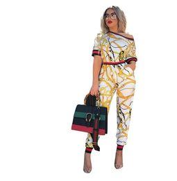 Argentina Conjunto de ropa de dos piezas para mujer Summer 2018 Nuevo conjunto de camiseta y pantalón de manga corta Conjunto de gran tamaño para conjuntos gemelos Conjuntos de mujer Suministro