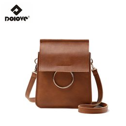 Wholesale Cross Body Shoulder Bag Wholesale - Wholesale- DOLOVE Summer 2016 New Handbag Shoulder Bag Women Messenger Bag Korean Mini Mobile Phone Small Women Bag Female All-Match