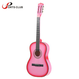"""Wholesale Guitar Music Beginners - Wholesale-High Quality 6-String Folk Acoustic Guitar 38"""" Guitar for Beginners Music Lovers Students Gift Great Gloss Finish"""