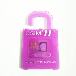 Wholesale Unlock Sim For Cdma - Rsim 11+ r sim 11+ RSIM11+ r sim11+ plus unlock card for iPhone 7 plus iphone 6 unlocked iOS 10.x-7.x 4G CDMA GSM WCDMA SB AU SPRINT