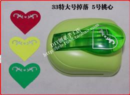 Wholesale Shaper Puncher - Wholesale- New Super Large Size Shaper Punch Craft Scrapbooking heart shape Paper Puncher DIY tools 1pc No-5