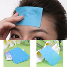 Wholesale Wholesale Face Blotting Papers - 50pcs Tissue Papers Pro Powerful Makeup Cleaning Oil Absorbing Face Paper Absorb Blotting Facial Cleaner Face Tools
