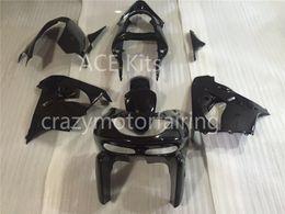 Wholesale Zx6r Fairing 98 - 3 Free gifts New Fairing kits for 98 99 ZX 6R 636 1998 1999 Ninja ZX6R ZX636 ABS fairings Body kits hot Black ar1