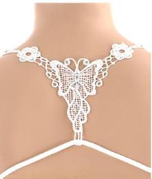 Wholesale Cross Back Shoulder Bra - Sexy Women Hollow-out Butterfly Bra Shoulder Strap Underwear Cross Back Belt Accessories Hot