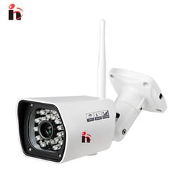 Wholesale Outdoor Wifi Camara - H(H)750 outdoor waterproof Onvif outdoor 1080p IP Wireless Wifi Camara Night Vision IRCut P2P Motion Detection bullet camera