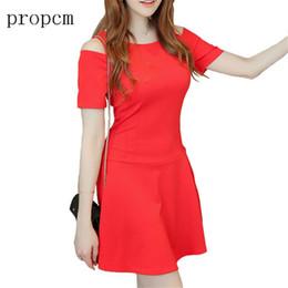 Wholesale Korean Short Dress Party - 2017 New Fashion Women Dress Summer Short Sleeve Mini Cute Sweet Korean Slim Dresses High Quality Party Club