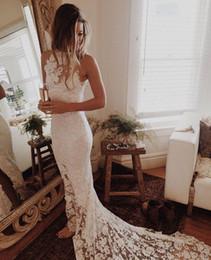Canada 2018 robe de mariée bohème sexy avec des robes de mariée sirène Offre