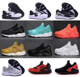 Wholesale Flooring Borders - 2017 Running Shoes Air Huarache For Men and Women Sneakers Zapatillas Deportivas Sport Huaraches Shoes Mens Trainers Size 5.0-11