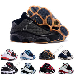 Wholesale Clear Plastic Men Shoe Box - (With Box) Air retro 13 Low Hornets Basketball Shoes low Men Sneakers Chicago Authentic He Got Game hologram barons Reflectiv discount shoes