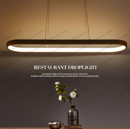 Wholesale Metal Suspension - NEW New Creative modern LED pendant lights Kitchen acrylic+metal suspension hanging ceiling lamp for dinning room lamparas colgantes MYY