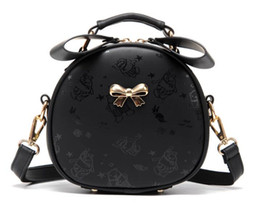 Wholesale Blue Bows - women Cosmetic bag handbags women bags messenger bags shoulder bag bolsas high quality handbag