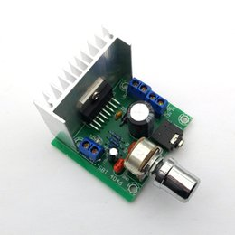 Wholesale Amplifiers Dc - TDA7297 Version B 15W Digital Audio Amplifier Board Dual-Channel AC DC 12V
