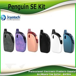 Wholesale Purple Se - Original Joyetech ATOPACK PENGUIN SE Starter Kits 8.8ml 2.0ml 50w with Lithium 2000mAh Built in All-In-One Kit 100% Authentic 2220079