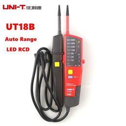 Wholesale Digital Rcd - UNI-T UT18B Auto Range Voltage Pen Voltmeter Continuity Tester LED RCD Tester