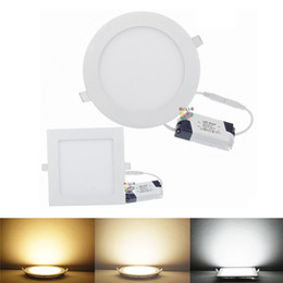 Wholesale Super Bright Ceiling Light - Super Bright 18W 25W Dimmable Led Downlights Recessed Ceiling Light Ultra Thin Led Down Light AC 110-240V + Good Quality Drivers