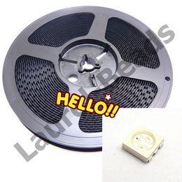 Wholesale Plcc Smt Led - Wholesale- 1000 pcs RGB PLCC -6 5050 3-CHIPS SMT SMD LED Chip Lamp Beads