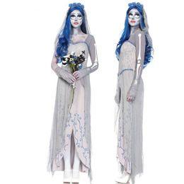 Le nouveau rôle du diable blanc et de l'ange Halloween joue le fantôme d'uniforme de jeu nouveau vampire mariée cadavre ? partir de fabricateur