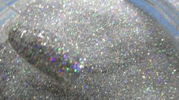 Wholesale Fine Holographic Nail Glitter - Wholesale- Hot Sale ! Silver Gold Colors 5g Holographic Glitter in various colors solvent resistant extra fine nail art 1 128