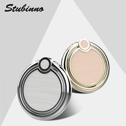 Wholesale Rings Tai Chi - Stubinno Tai Chi Luxury 360 Degree Metal Phone Ring Holder Phone Stand Finger Ring Phone Holder Fit For Magnetic Car Holder