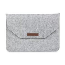 Wholesale Cloth Stylus - Wholesale-Felt cloth Sleeve Bag Case Cover For Cube i10   iwork10 Ultimate   iwork11 Stylus   i7 Stylus Tablet Protective Pouch