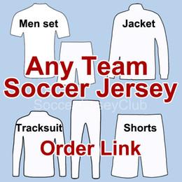 17 18 Cualquier equipo de camisetas de fútbol camisetas de futbol 2017 2018 camisetas de fútbol nacionales de calidad Thialand 10 piezas gratis para DHL EMS desde fabricantes