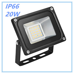 Wholesale outdoor led billboard - 1pcs Led Flood light outdoor lights 20W 220V 1200LM 20LED SMD5730 Floodlights For street Square Highway Outdoor Wall billboard