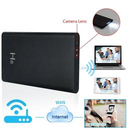Wholesale Wifi Portable Power Bank - 32GB HD 1920*1080P Night Vision Hidden WIFI Network Camera H8 Mobile Power Bank Spy DVR P2P Portable Camcorder Nanny Camera